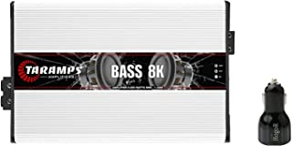 $642 » Taramps Class D BASS 8K 8000W 1 Ohm Auto Sound Systems Mono Amplifier with Mono Full Range Speaker Amplifier with Built in...