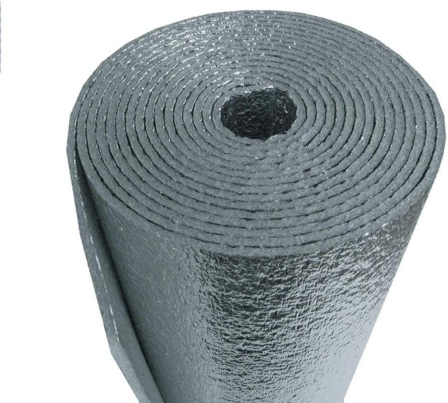 25 Sqft Manufacturer regenerated product R-8 HVAC Duct Wrap Reflective Foam Insulation Co [Alternative dealer] 2 Sided