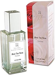 Hawaii Island Bath & Body Perfume 1.6 fl. oz. Maui Tea Rose