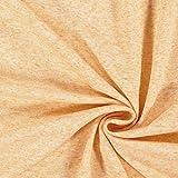 Fabulous Fabrics Feinpiqué Melange Leinen Mix – gelb —