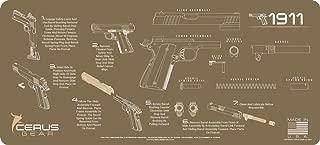 Cerus Gear 1911 Instructional Promat, Coyote Tan