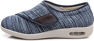 Diabetic Slippers Men Womens Swollen Feet Walking Shoes Adjustable Edema Shoes Ladies Extra Wide Orthopaedic Comfort Sanda...