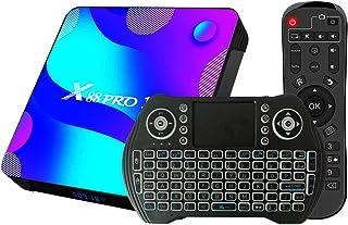 Android 10.0 TV Box 4GB RAM 32GB ROM Set Top Box Smart TV Box RK3318 USB 3.0 1080P Ultra HD 4K HDR WiFi 2.4GHz 5.8GHz BT 4...
