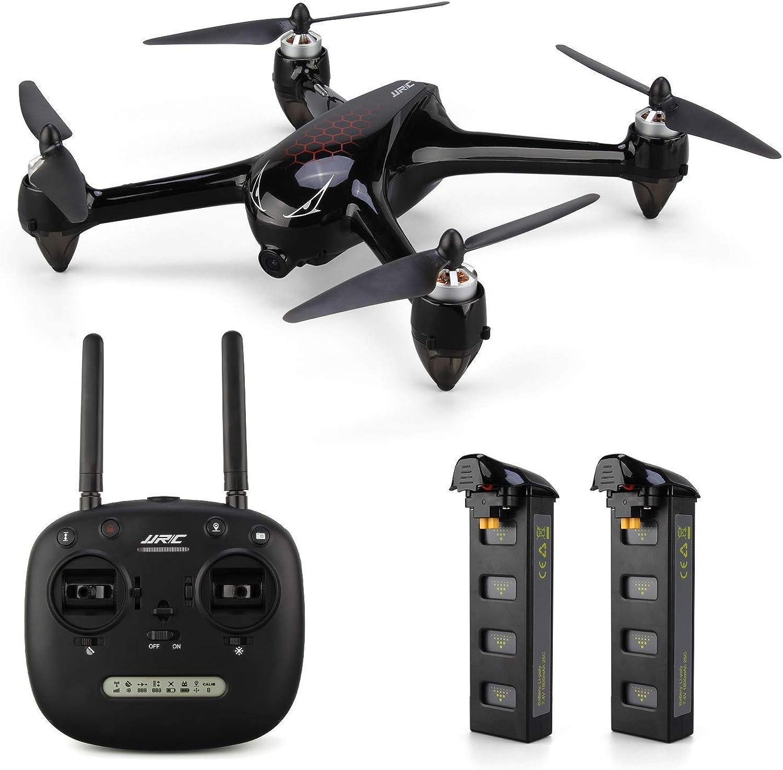 vendiendo bien en todo el mundo JHSHENGSHI RC Quadcopter - 2.4GHz 1080P HD 5G 5G 5G WiFi Cámara Drone con Control Remoto FPV con GPS, retención de altitud, Modo sin Cabeza, sígueme, Volver a casa  cómodo