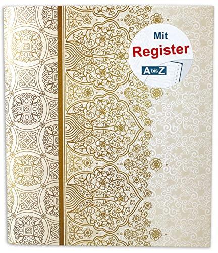 RNK 46703 - Raccoglitore ad anelli per DIN A5, con registro A-Z, Alhambra