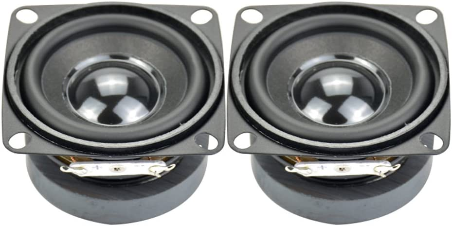 AIYIMA 2pcs Don't miss the campaign Subwoofer 2 inch 4ohm Mini 5w Speaker DIY Full Range Cheap mail order shopping