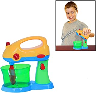 Mega Mixer Playset - Pretend and Play Realistic Mixer - Just Like Mommy! - Adorable Colors - Fantastic Safe Design