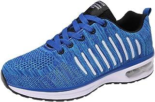 21cd8b80 Calzado Deportivo de Exterior de Hombre ZARLLE Zapatillas de Deporte Hombres  Zapatos de Gimnasia para Caminar