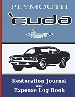 PLYMOUTH 'CUDA - Restoration Journal - Expense Log: Vintage car restorers and collectors love documentation. Keep accurat...