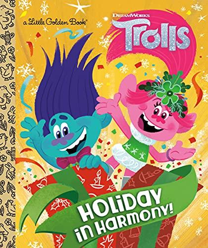 Holiday in Harmony! (DreamWorks Trolls) (Little Golden Book)