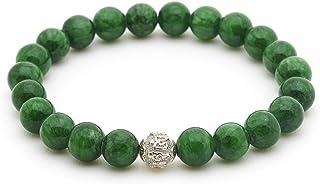 BERGERLIN Pulsera de Perlas autenticas de Piedra Natural y