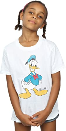 Disney niñas Mickey Mouse Classic Donald Duck Camiseta