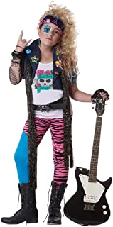 California Costumes 80's Glam Rocker Child Costume, Large Plus