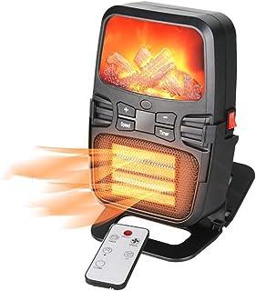 LHZHG Calefactor Eléctrico Portátil 1000W, Calefactor Eléctrico Bajo Consumo, Mini Termoventiladores Calentador de Cerámica de PTC Protección del Sobrecalentamiento para Hogar, Oficina y Escritorio