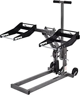 Goplus Mower Lift High Lift Jack for Tractors and Zero Turn Riding Lawn Mowers, 300lb Capacity