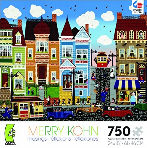 Merry Kohn A Different Drummer Jigsaw Puzzle by Ceaco