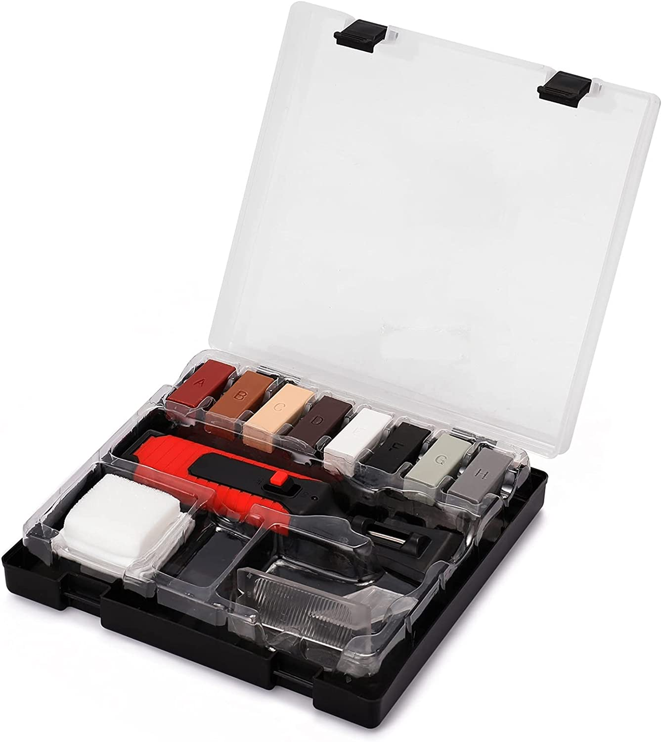 Challenge the lowest price of Japan ☆ 5% OFF Hand Tool Set Laminate Repairing Casing Chips Wax Kit Scratches