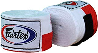 "Fairtex 120"" Cotton Handwraps - White"