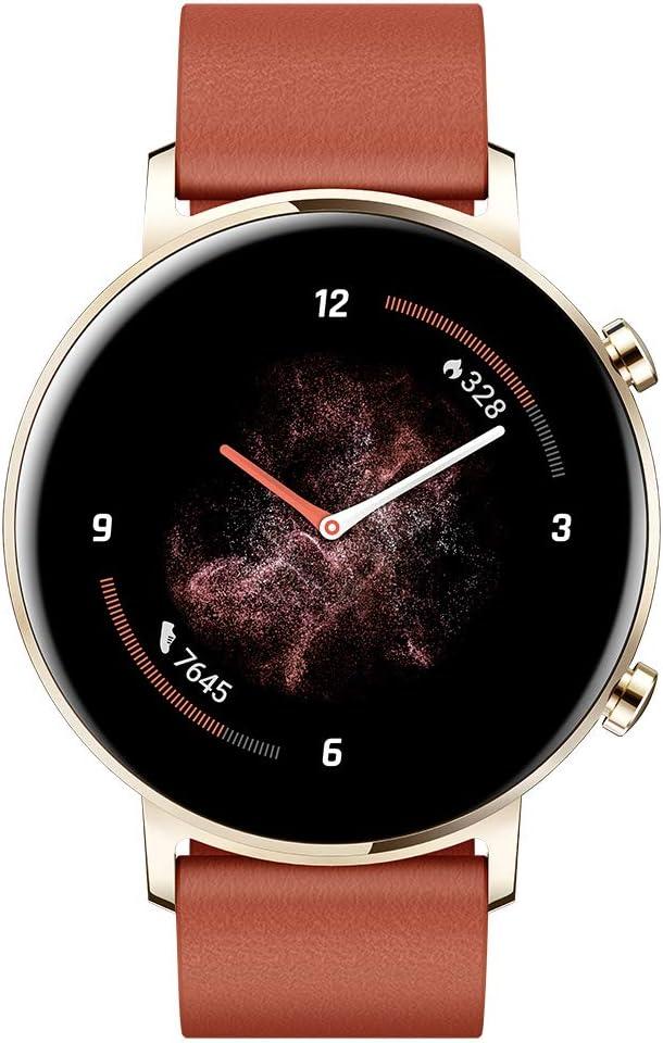 Huawei Watch GT 2 - Smartwatch con Caja de 42 mm, hasta 1 Semana de Batería, Pantalla táctil AMOLED 1.2