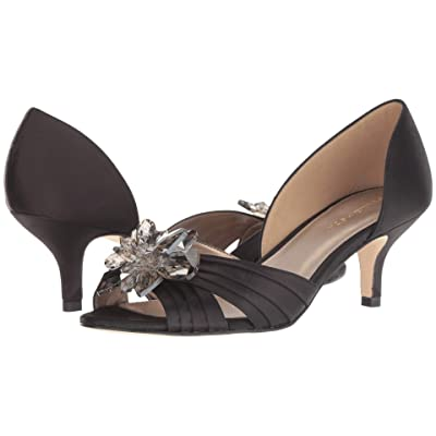 Pelle Moda Luna (Black Satin) Women