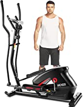 ANCHEER APP Elliptical Machine, Elliptical Trainer with 10 Level of Magnetic Resistence Levels, Enhanced LCD Monitor, Hear...