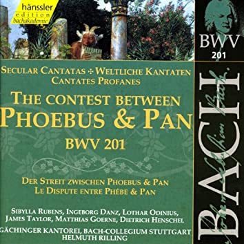 Bach, J.S.: Contest Between Phoebus and Pan (The), Bwv 201 (Secular Cantata)