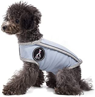 Comfort Dog Anxiety Relief Coat, Dog Anxiety Calming Vest Wrap,Adjustable Thunder Shirts Jacket for XS Small Medium Large XL Dogs