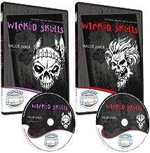 Skulls Clipart-Vinyl Cutter Plotter Clip Art Images-Sign Design Vector Art Graphics CD-ROM (Volumes 1+2)