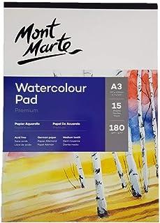 Watercolour Pad A3 15 Sheet 180gsm German Paper Drawing Painting