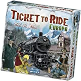 Asmodee - Ticket to Ride Europa, 8 anni e più, Edizione Italiana, 8500