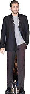 US-Way e.K. Expositor de cartón Jake Gyllenhaal Actor Grey Shirt aprox. 176 cm, figura de cine, figura de cartón, tamaño real