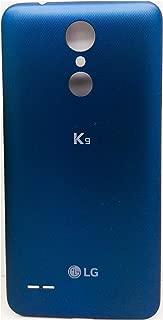 Cubierta DE BATERÍA Original para LG K8 K9 2018 LMX210EM Cubierta Azul Tapa Trasera