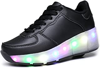 pit4tk LED Light Up Shoes Skate Shoes Sport Shoes Dance Boot Unisex Christmas