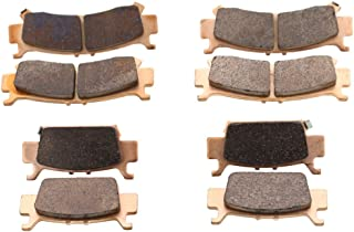 Race Driven Front and Rear Brake Pads Brakes for Honda / 1000 Pioneer 2016-2019 / Talon 1000R 1000X 2019