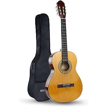 HUAWIND Guitarra Clásica 3/4, Guitarra Española con 6 Cuerdas de ...
