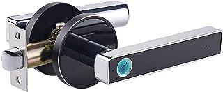 Minimalistische stijl vingerafdruk-deurslot, elektronisch, Smart Lock Keyless Home Entry met vingerafdruk, perfect voor ka...