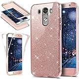 LG G3, LG G3Funda de silicona, ikasus LG G3TPU móvil [Full Body 360Coverage Protective], cristal Bling brillante indescriptible brillante transparente TPU Silicona protector para teléfono móvil Fun