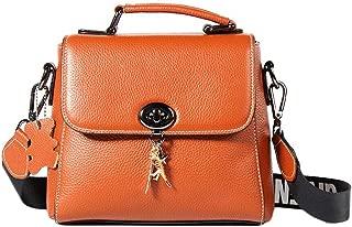 Handbag Women's Bag Shoulder Bags Women's Messenger Bag Women's Handbag (Color : Orange, Size : OneSize)