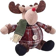 Sanwooden Lovely Christmas Tree Decor Christmas Doll Santa Claus Snowman Reindeer Xmas Tree Hanging Ornament Decor Fashion...