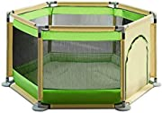 Hfyg Playpens Portable Baby Playpen Play Yard Family Playground Ball Pool Guard Fence Safety Barrier pens
