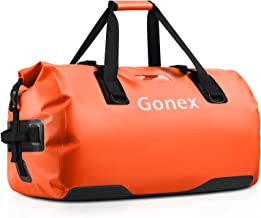 Gonex 40L 60L 80L Large Waterproof Duffle, Durable Travel Dry Duffel Bag for Kayaking Boating Rafting Fishing Outdoor Adve...
