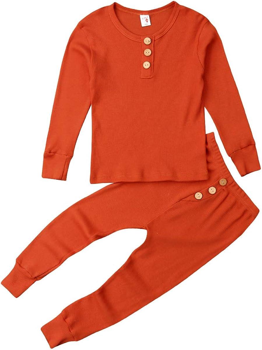 Toddler Baby Boys Sales for sale Seasonal Wrap Introduction Girls Snug-fit Sets Pajamas Sl Long Sleepwear