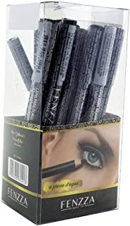 Lápis Delineador para Olhos a Prova D'água Fenzza FZ14001 - Preto