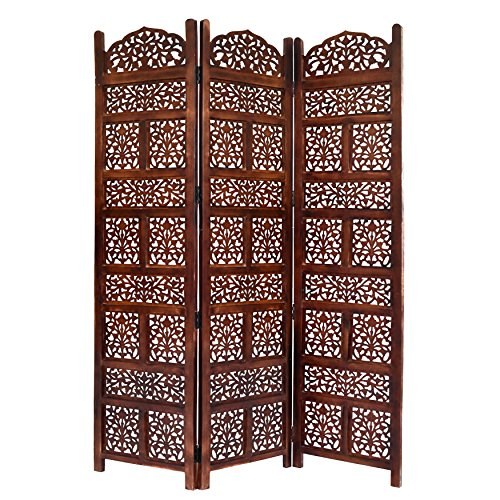 Home & More 10320G02 Darrtmast 3 Panel Wood Screen