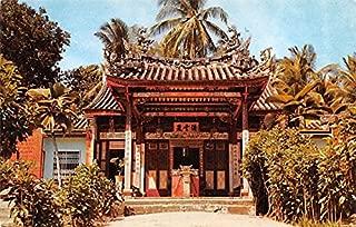 Snake Temple at Sungei Kluang Penang Malaysia Postcard