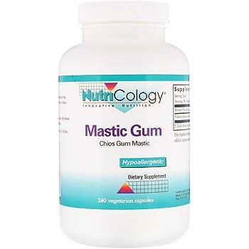 NutriCology Mastic Gum 240 Vegetarian Capsules