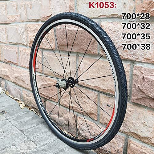 Llsdls Neumático de la Bicicleta Bicicleta de Carretera Neumáticos 700 700C 700 * 28C / 32C / 35C / 38C Ultraligero Baja Resistencia al Drenaje