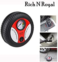 Clomana® Portable Electric Mini DC 12V Air Compressor Pump for Car and Bike Tyre Tire Inflator
