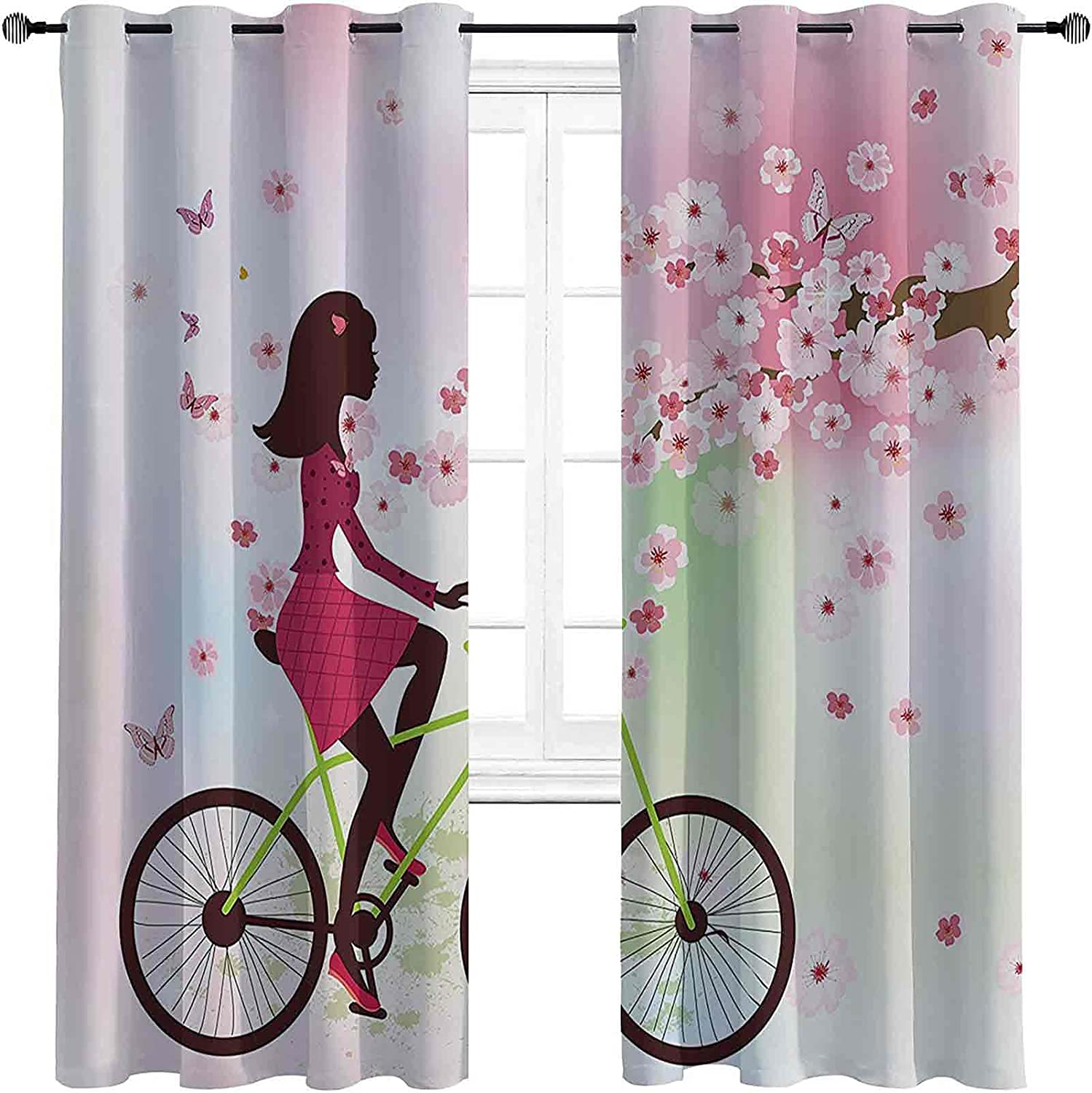 Teen Girls Indianapolis Recommendation Mall Decor Blackout Curtains Girl - Insulation Gasket On