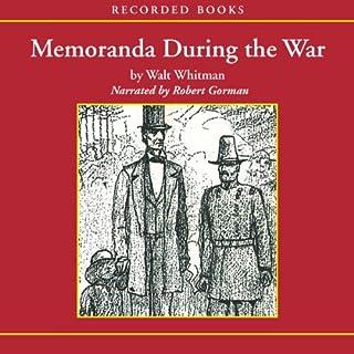 Memoranda During the War audiobook cover art